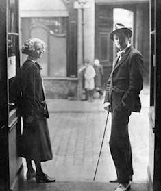 Sylvia Beach och James Joyce