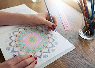 bra pennor till målarböcker